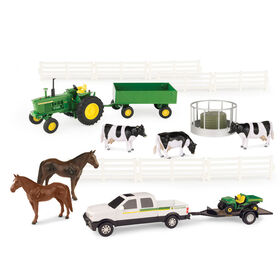 1:32 Scale John Deere 20 Piece Value Set