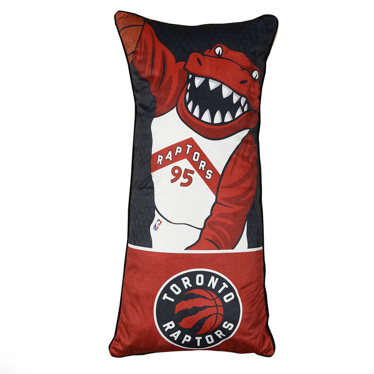 NBA Toronto Raptors Huggable Body Pillow