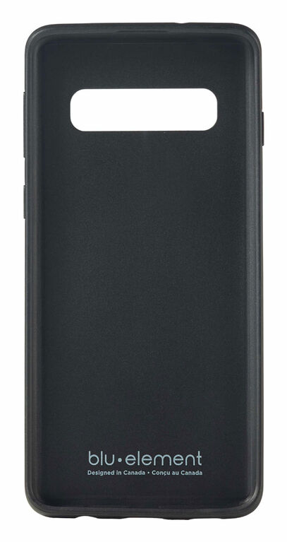 Blu Element Saffiano Case Galaxy S10 Black