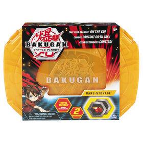 Bakugan, Baku-storage Case (Orange) for Bakugan Collectible Action Figures