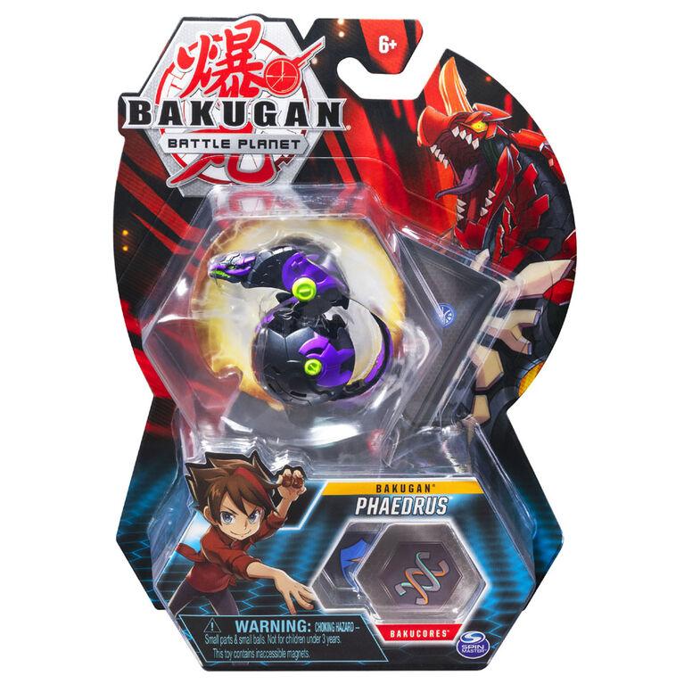 Bakugan, Phaedrus, Créature transformable à collectionner de 5 cm