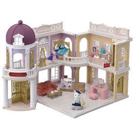 Ensemble-Cadeau du Grand Magasin Calico Critters Town Series, Ensemble de Jeu de Maison de Poupée de Mode, Figurine, Meubles et Accessoires Inclus