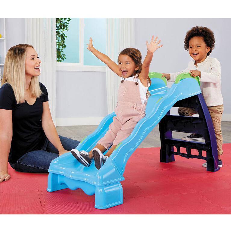 Little Tikes 2-in-1 Indoor-Outdoor Slide For Toddlers