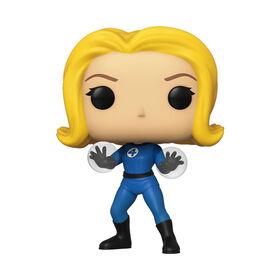 Figurine en Vinyle Invisible Girl Par Funko POP! Marvel Comics Fantastic Four