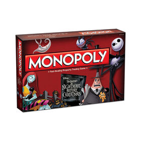 Monopoly Game: Tim Burton's The Nightmare Before Christmas