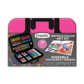 Sketch & Colour Art Kit - Pink - R Exclusive