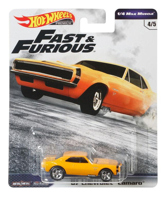 Hot Wheels 67 Camaro Vehicle