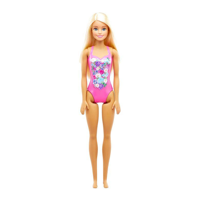 Barbie Beach Doll - Pink
