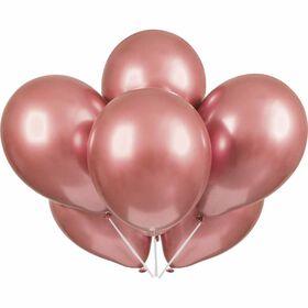 """Rose Gold Platinum 11"""" Latex Ballon, 6ct"""