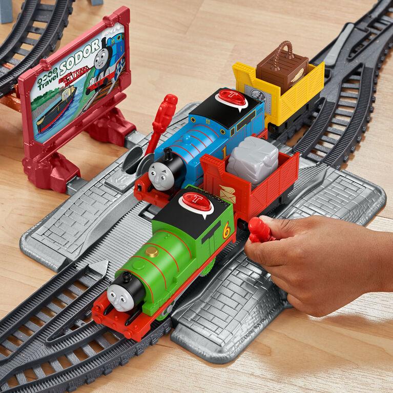 Thomas et ses amis - Coffret trains - ThomasParlant et Percy - Édition anglaise