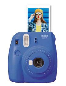 Appareil photo Instax Mini 9 de Fujifilm - Bleu Cobalt