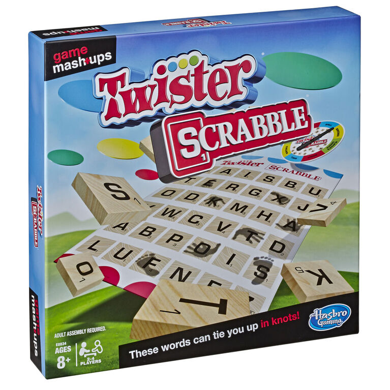 Game Mashups Twister Scrabble - English Edition - R Exclusive