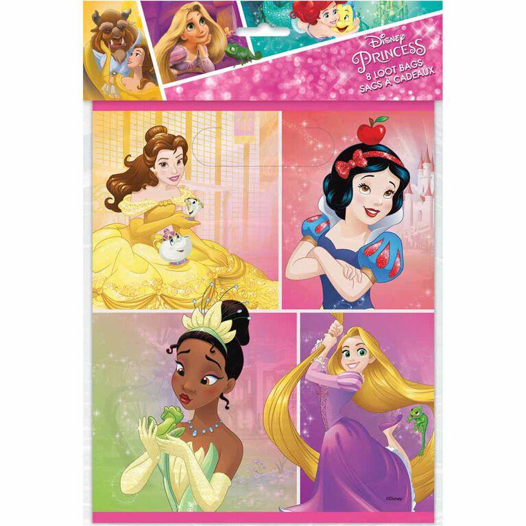 Princess Loot Bags, 8 pieces