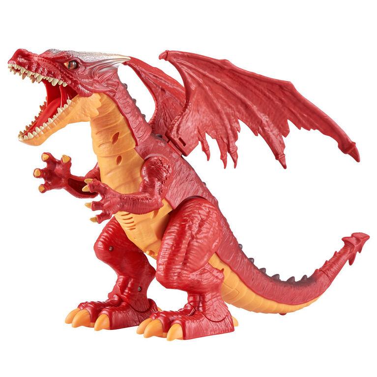 Zuru Robo Alive Fire-Breathing Roaring Dragon