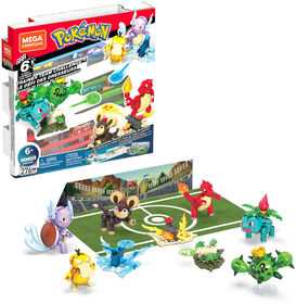 Mega Construx Pokemon Trainer Team Challenge Figure Building Set