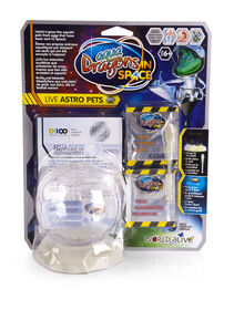 WORLD ALIVE Aqua Dragons in Space Live Astro Pets