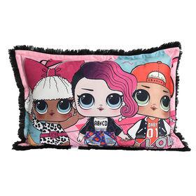 L.O.L. Surprise! Jumbo Funky Fur Pillow