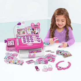 Minnie's Shop N Scan Talking Cash Register