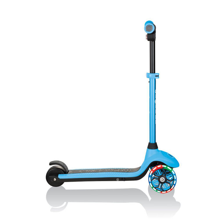 Globber One K E4 Scooter électrique pour les enfants - Bleu Ciel