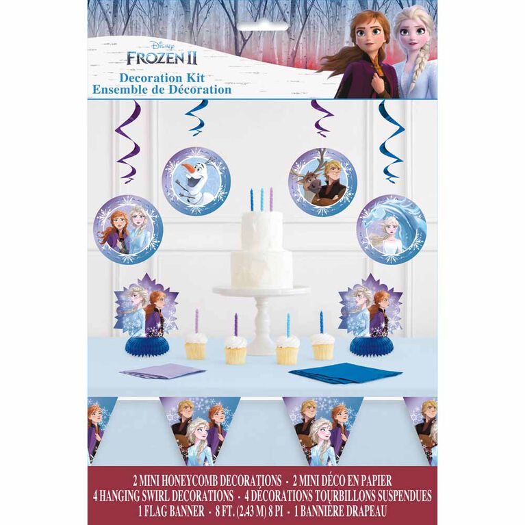 Frozen Ensemble de Decoration, 7pi