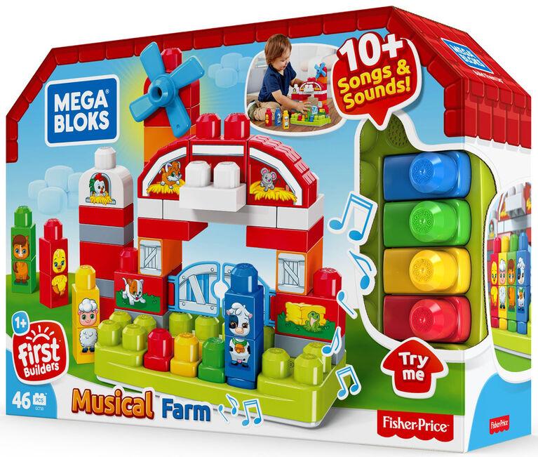 Mega Bloks Musical Farm