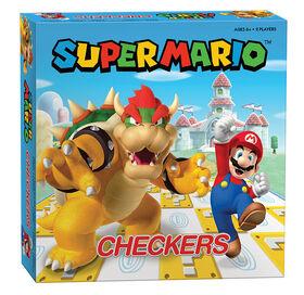 CHECKERS: Super Mario vs. Bowser