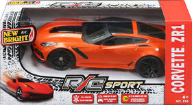 New Bright - Camions à l'échelle 1/16 - Corvette ZR1 - Orange