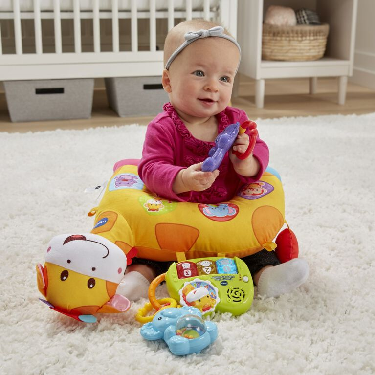 Tummy Time Discovery Pillow - English Edition