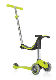 Globber Evo 4-in-1 Scooter Lime Green