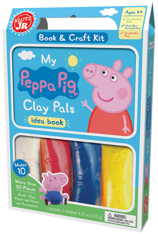 Klutz Junior - My Peppa Pig Clay Pals - Édition anglaise