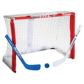Franklin Sports NHL Fold N Go Mini Hockey Goal and Stick Set