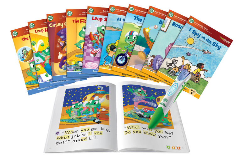 LeapReader Learn to Read Mega Bundle, System and Book Set - English Version