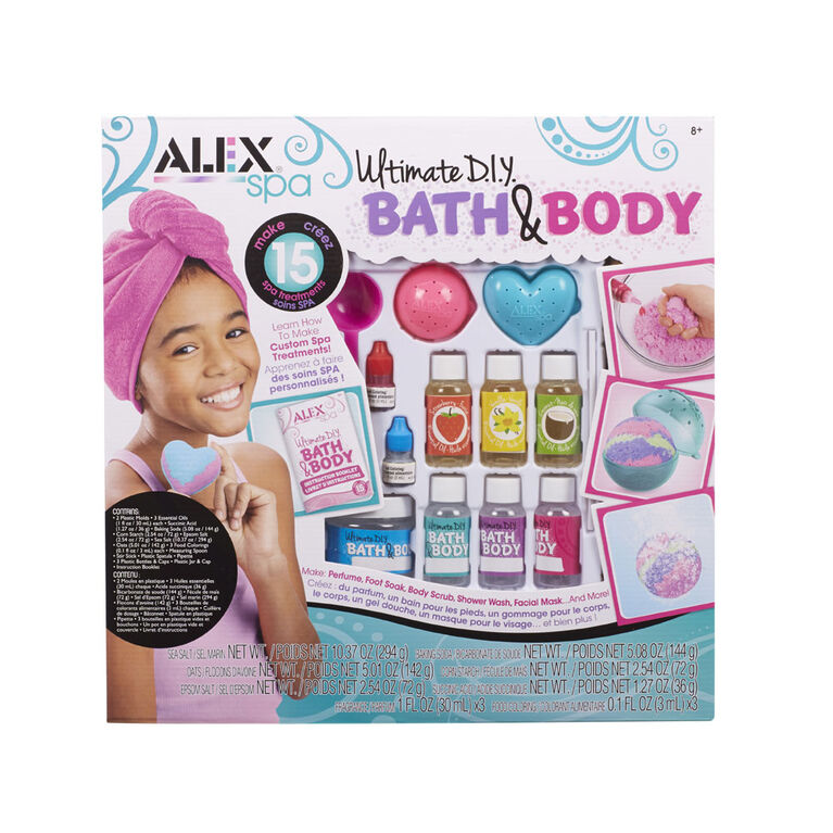 Alex Spa - Ultimate DIY Bath & Body