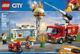 LEGO City Fire L'incendie dans le Bar a Burgers 60214