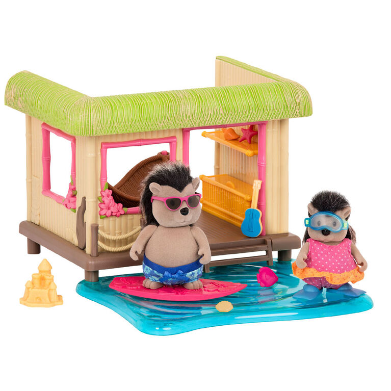 Li'l Woodzeez, Tiki Hut with Accessories - styles may vary