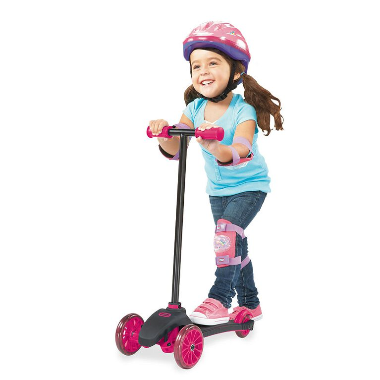 Little Tikes - Lean To Turn Scooter - Pink