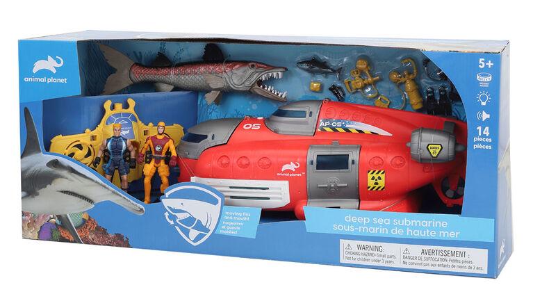 Animal Planet - Deep Sea Submarine Set - R Exclusive