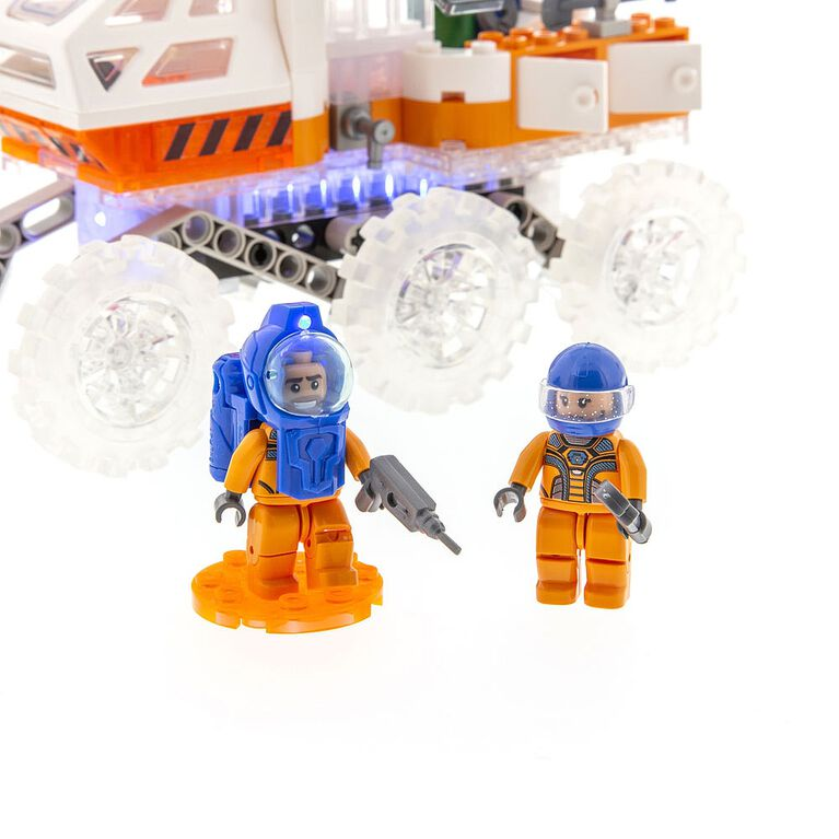 Laser Pegs Mission Mars Collection - Mars Rover