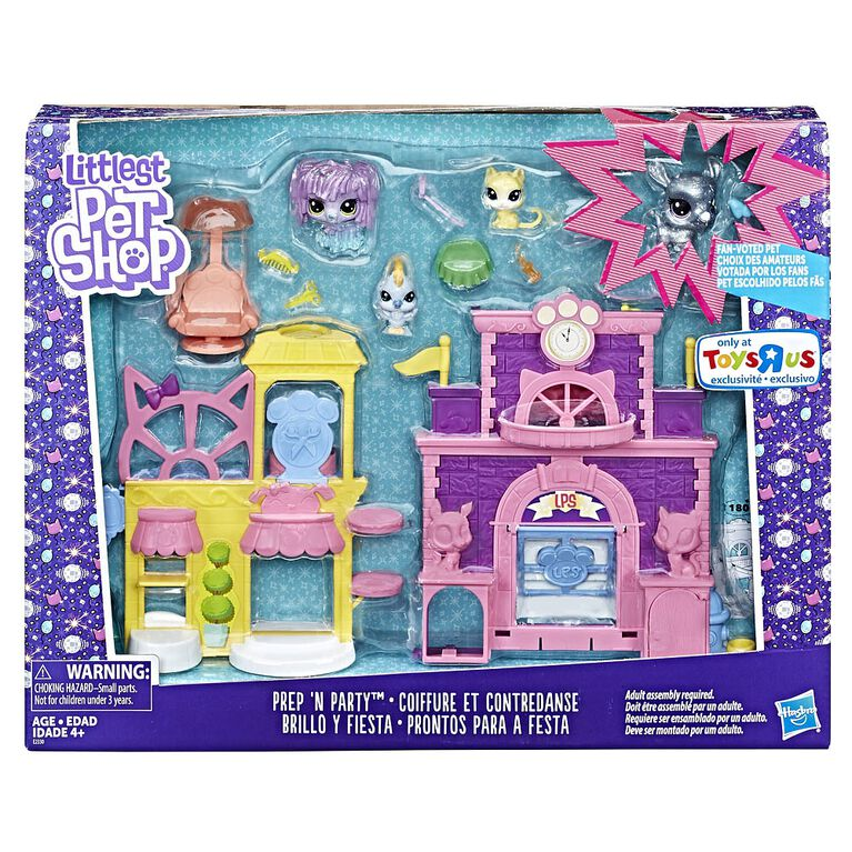 Littlest Pet Shop Prep 'n Party - R Exclusive
