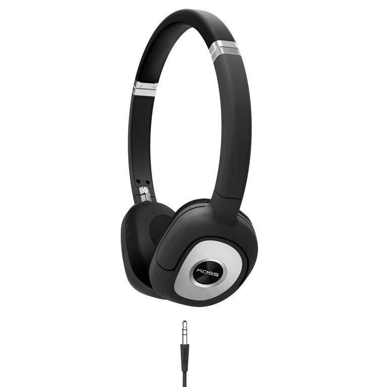 Koss Headphones SP330 Portable Stéréo Dynamique Noir Argent
