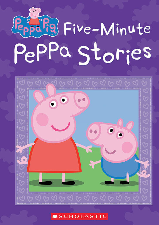 Five Minute Peppa Pig Stories - Édition anglaise