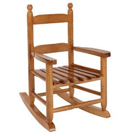 Kid's Rocking Chair - Brown