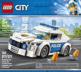 LEGO City Police La voiture de patrouille 60239