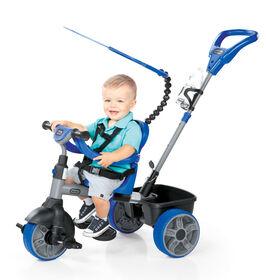 Little Tikes - Tricycle 4 en 1 modèle de base - bleu