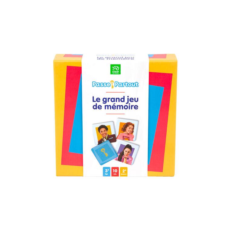 Passe-Partout - Jeu De Memoire - French Edition