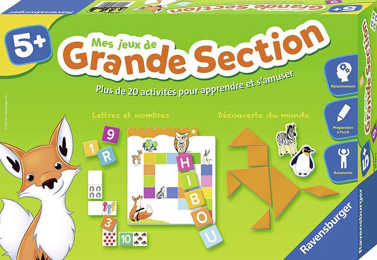 Ravensburger: Mes Jeux De Grande Section (Français Seulement)