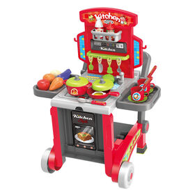 Toy Chef 3-In-1 Children's Full-Size Kitchen