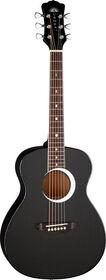 Aurora Borealis 3/4 Guitar - Black