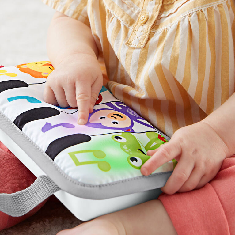 Fisher-Price - Coussin piano Mini musiciens