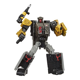 Transformers Toys Generations War for Cybertron: Earthrise Deluxe WFC-E8 Ironworks Modulator Figure